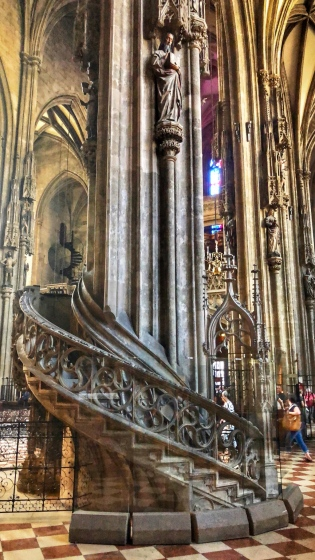 Pulpit at St. Stephen's Cathedral