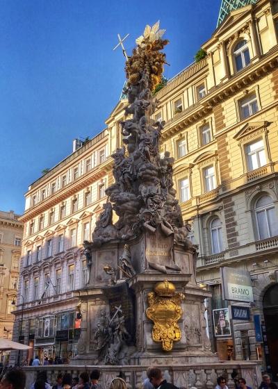 Holy Trinity Plague Column Statue