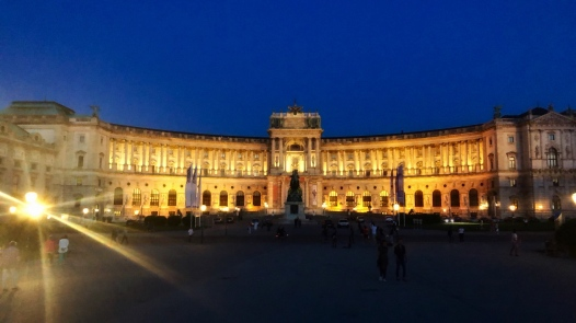 The grand Hofburg