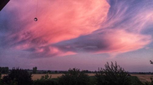 A Hungarian sunset