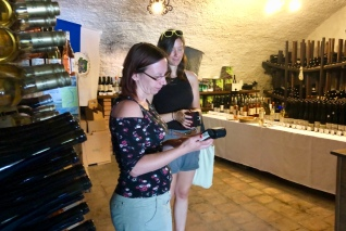 Wine tasting and wine buying at Szászi Birtok winery