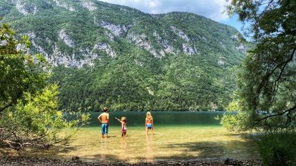 Lake Bohinj, Slovenia - our favorite!