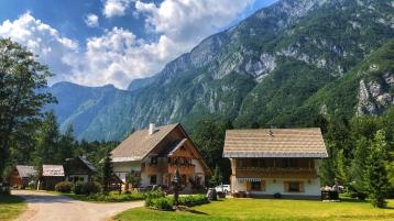 Ukanc, where we stayed