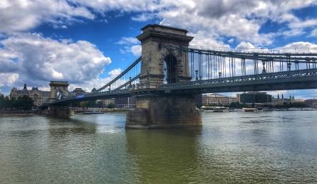 The infamous Chain Bridge