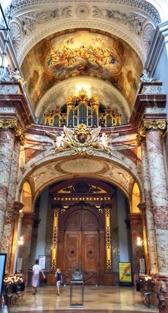 Beautiful Karlskirche