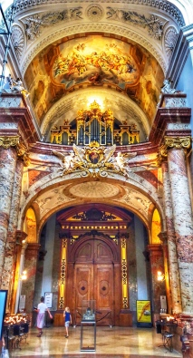 Interior of Karlskirche