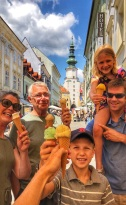Gelato vacations! Bratislava edition...