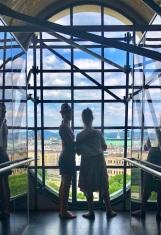 View from up in Karlskirche, Vienna