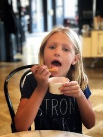 Gelato at Cafe Klimt!