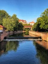 Pegnitz river, Nuremberg