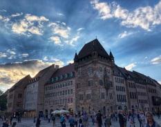 Sunset, Nuremberg
