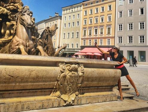 Horse fountain, Residenzplatz
