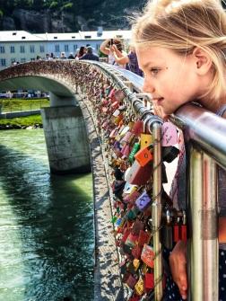 Most impressive lock bridge I've ever seen!