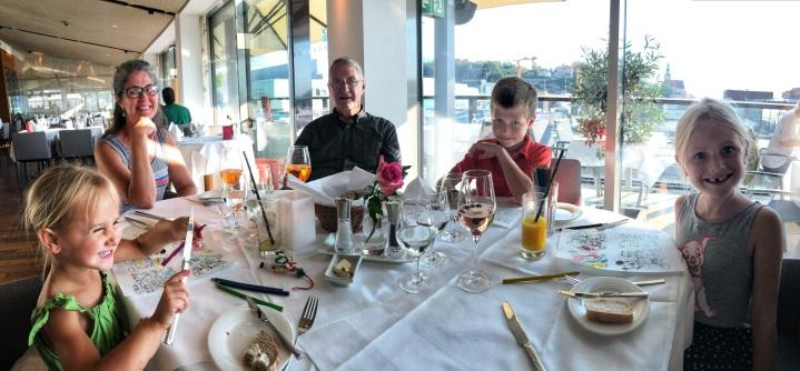 Dinner at IMLAUER Sky Restaurant