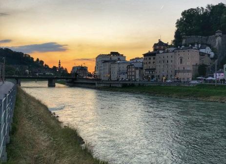 Salzach River, Salzburg