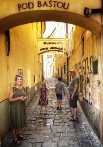 Streets of Bratislava