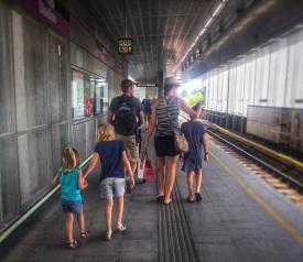 We love the Vienna Metro!