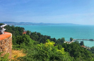 Lake Balaton from Tihany