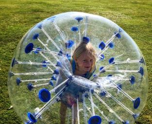 Didi in the bubble!