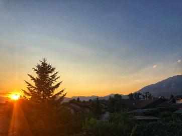 Sunset, Radovljica, Slovenia