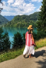 A walk around Lake Bled