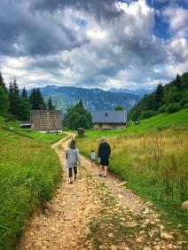 A walk up to Vogar