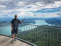 Beautiful views of Worthersee!