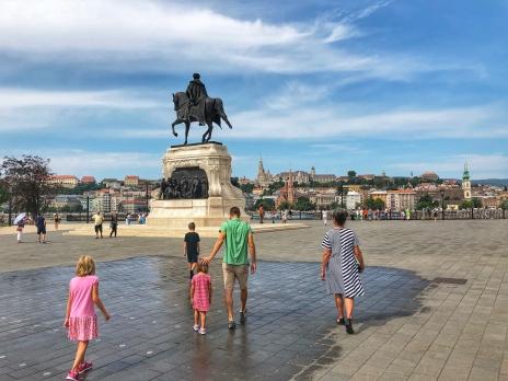 Walking to the Danube