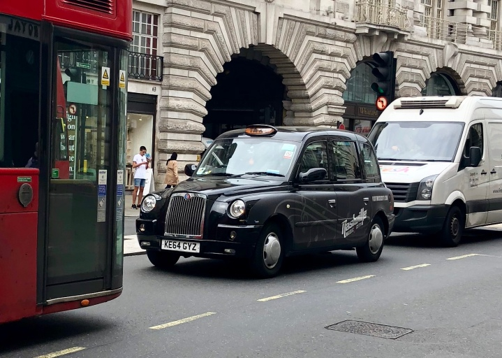 And so were these adorable London Taxis!