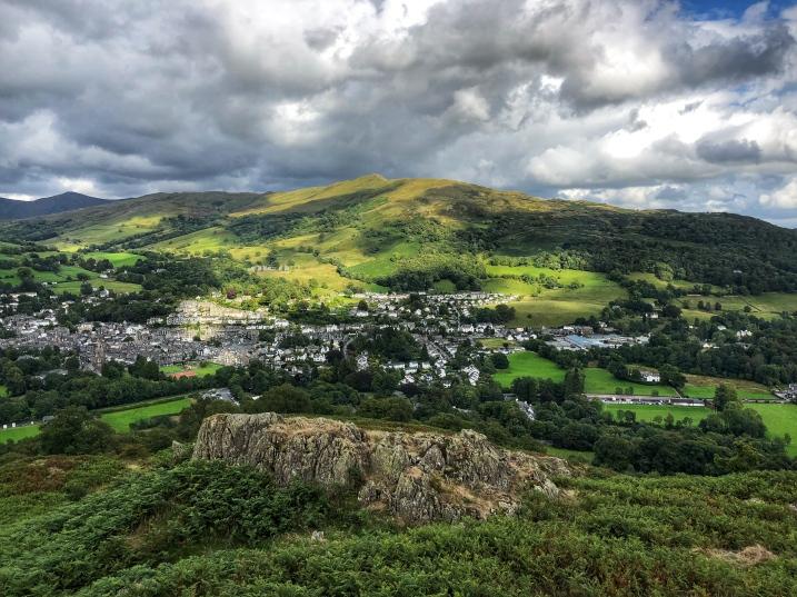 Overlooking Ambleside