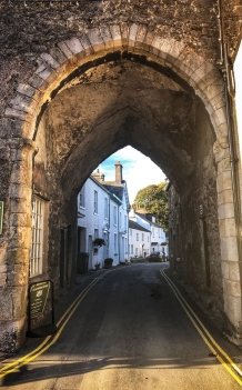 Archway on the streets of Cartmel