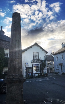 Town square in Cartmel