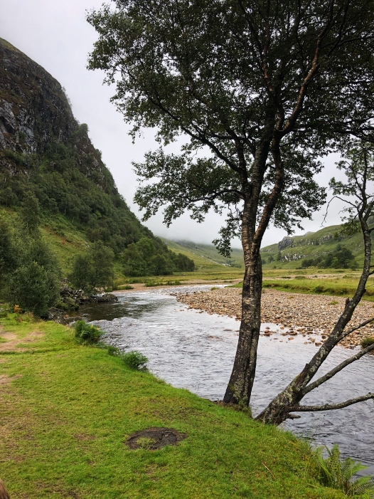 Water of Nevis river