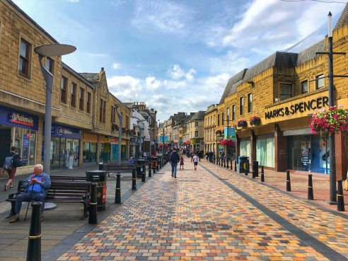 Inverness shopping/walking street (High St)