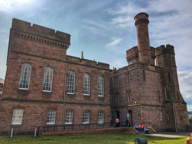 Inverness Castle (closed the day we were there)
