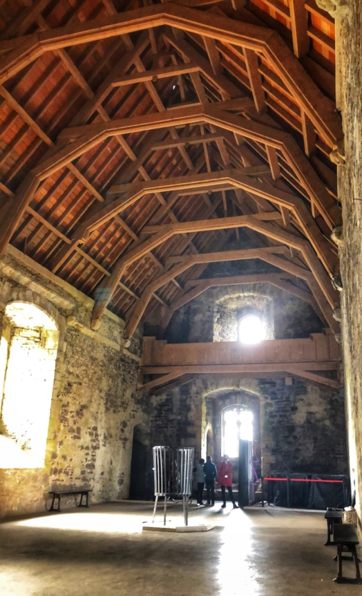 The great hall, where many scenes from Monty Python were filmed