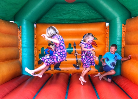 Bouncy house for hours!