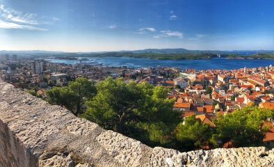 The view from Barone Fortress