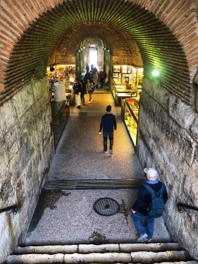 Underground Diocletian's Palace