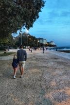 Then going for a little walk along the promenade